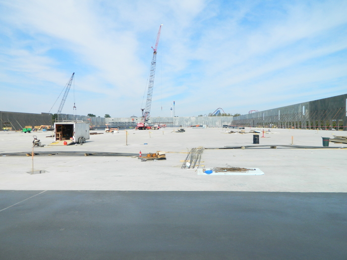 britax concrete project in fort mill south carolina constructed by Eldridge Concrete