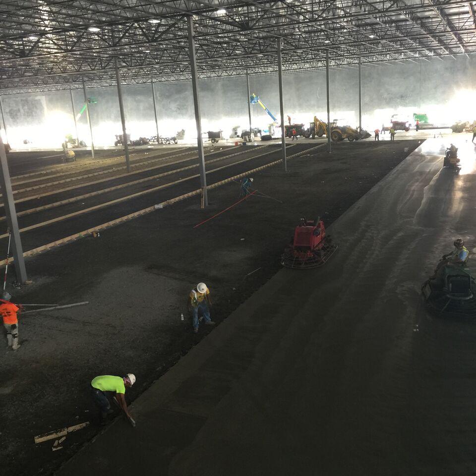 Ashley Furniture North Charleston Sc: Fmin-Super Flat Concrete Construction