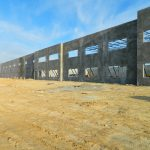 concrete walls erected by Eldridge Concrete for Dixon Valve project