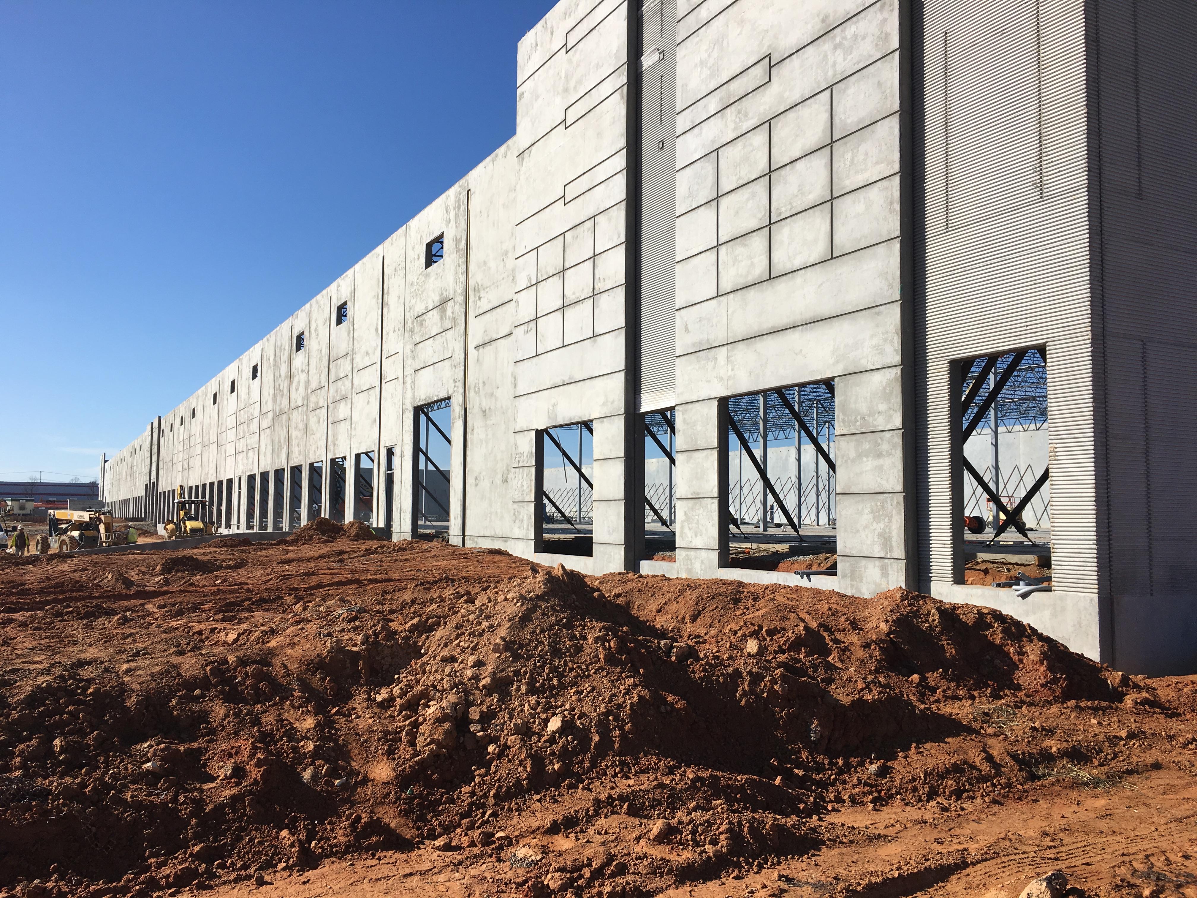 Legacy Fort Mill >> Tilt Wall Concrete Project in SC | Eldridge Concrete