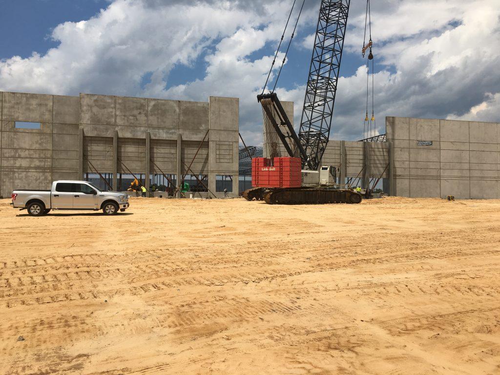 Concrete Construction In Hamlet Nc Eldridge Concrete
