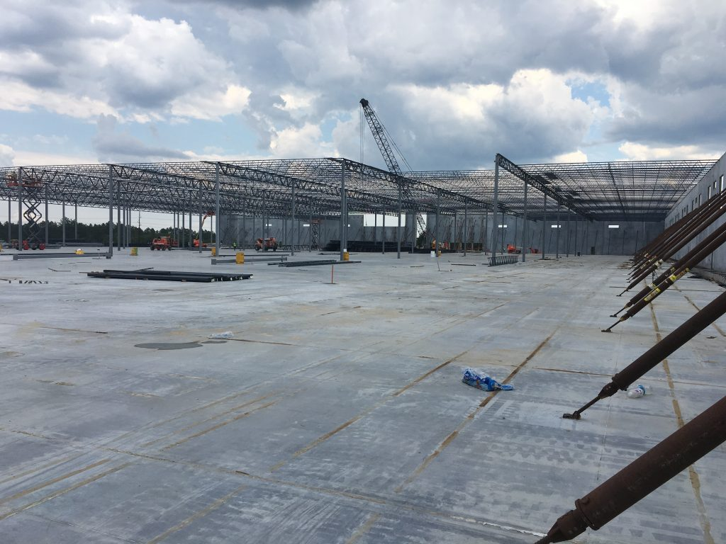 eldridge concrete; RSI; Hamlet, NC;