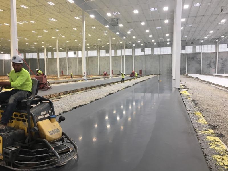 Super Flat Floor Slabs Done By Eldridge Concrete Eldridge Concrete
